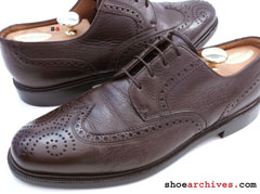 Bally CELESTA Mens Wingtip Shoes