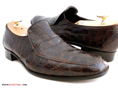 Bally ULTIMO Crocodile Mens Shoes