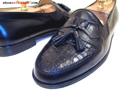 Bruno Magli CHAD Crocodile & Lizard Skin Mens Shoes
