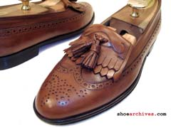Bruno Magli MARVIN Wingtip Tassel Loafers