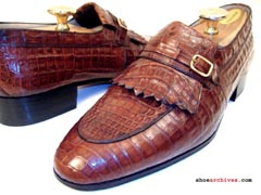 Bruno Magli RANK Full Alligator Skin Loafers