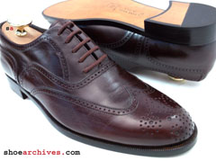 Bruno Magli REMO Mens Wingtip Balmoral Shoes Oxfords