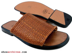 Bruno Magli Mens Woven Sandals