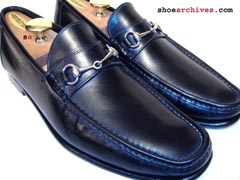 Santoni AXEL Mens Bit Loafers