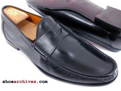 Santoni PERCY Mens Designer Italian Shoes