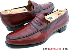 Salvatore Ferragamo AGO Penny Loafers Mens