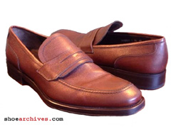 Salvatore Ferragamo ATENE Mens Lavorazione Originale Penny Loafers Shoes