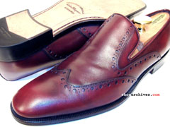 Salvatore Ferragamo BELGRADO Mens Wingtip Shoes