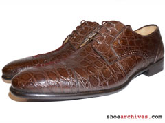 FERRAGAMO CROCODILE SHOES
