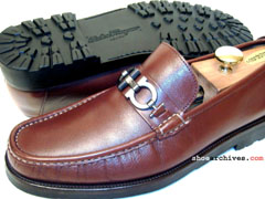 Salvatore Ferragamo DIEGO Double Gancini Bit Lug Sole Loafers