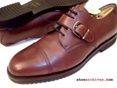 Ferragamo EAST Monkstrap Lace Up