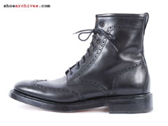 Ferragamo TRAMEZZA Fragore Wingtip Lace Up Boots