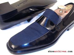 Ferragamo GENE Formal Tuxedo Loafers Patent Leather