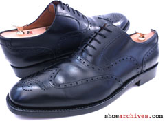 Ferragamo GENT Mens Tramezza Wingtip Shoes