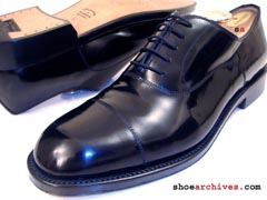 Salvatore Ferragamo GLANCE TRAMEZZA Mens Captoe Oxfords Shoes