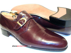 Salvatore Ferragamo KRISTAL Monk Strap Shoes