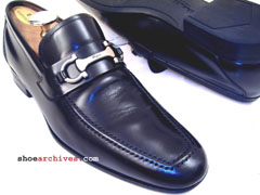Salvatore Ferragamo LAWTON Gancini Bit Loafers Shoes
