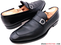 Ferragamo LUSSO Side Gancio Loafers