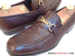 Ferragamo LUXE Lavorazione Originale Gancini Bit Loafers For Men