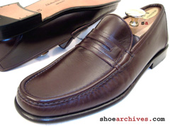 Salvatore Ferragamo MINCIO Mens Penny Loafers