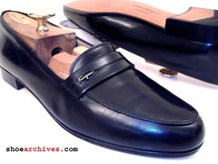 Ferragamo PARKLANE Men's Studio Collection Loafers Shoes
