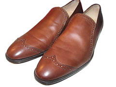 Salvatore Ferragamo POKER Wingtip Loafers