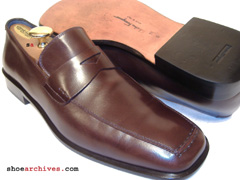 Salvatore Ferragamo PORTOFINO Mens Hand Made Leather Loafers