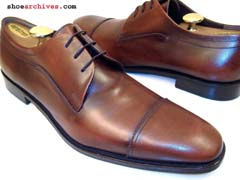 Ferragamo SALVADOR Oxfords Lace Ups Mens Shoes