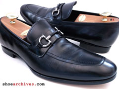 Ferragamo RAGUSA Gancio Bit Mens Shoes Loafers