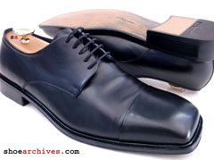 Ferragamo REGIS Mens Cap Toe Oxfords