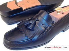 Salvatore Ferragamo RIVOLI Mens Tassel Loafers Shoes