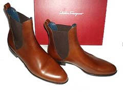 Salvatore Ferragamo ROCK Mens Italian Dress Boots