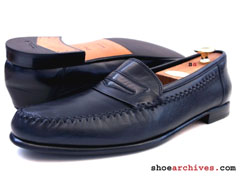 Ferragamo SOFT Mens Penny Loafers