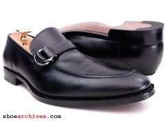 Salvatore Ferragamo TEO Mens Lavorazione Originale Bit Loafers Shoes