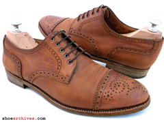 Salvatore Ferragamo Semi Brogue Derby