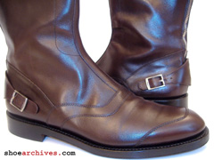 Salvatore Ferragamo TRAMEZZA Mens Riding Boots